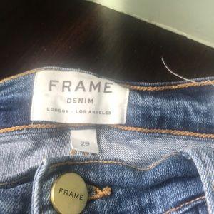 Frame 29 high skinny crop